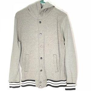 Trademark Brooklyn Cloth Sweatshirt Gray Black